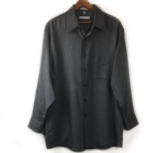 Geoffrey Beene Collared Wrinkle Free Dress Shirt